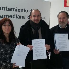Ciudadanos, PSOE e IU registran una moción de censura en Villamediana