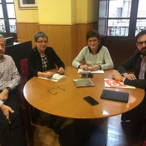 Ciudadanos transmite el compromiso de trabajar por el desarrollo de Aldeanueva de Ebro, Rincón de Soto, Alfaro y Cervera