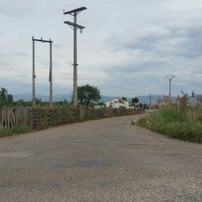 Ciudadanos denuncia la chapuza peligrosa del asfaltado de una parte del camino viejo de Lardero