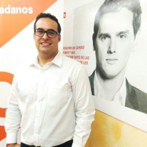 Alberto Reyes, coordinador de la Agrupación local de Ciudadanos Villamediana de Iregua