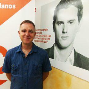 Jesús López, elegido coordinador de la Agrupación local de Cs Calahorra