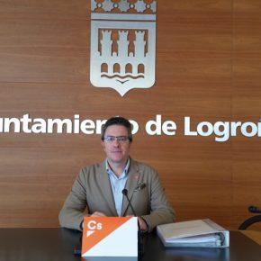 Ciudadanos califica la licitación del contrato de jardines de Logroño como una clara muestra de 'capitalismo de amiguetes'