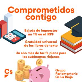 Logros de Cs La Rioja en los Presupuestos de La Rioja 2018