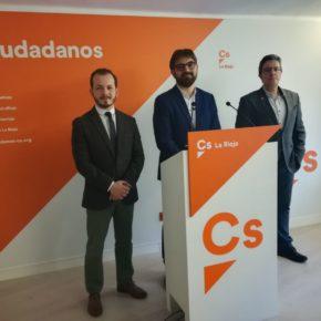 Ciudadanos solicita una reunión con la dirección del PP de La Rioja ante los reiterados incumplimientos del Acuerdo de Investidura