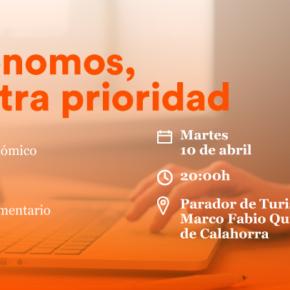 Ciudadanos organiza una charla sobre autónomos en Calahorra