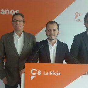 Cs La Rioja solicitará la reprobación de la consejera de Desarrollo Económico e Innovación