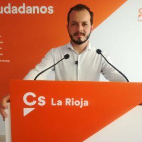 """Baena: """"Desde Ciudadanos trabajamos para mejorar nuestras carreteras, el Gobierno de La Rioja y el de España deben ponerse las pilas"""""""