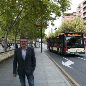Ciudadanos apuesta porque las líneas 1, 4, 5 y 10 de autobuses urbanos reduzcan su frecuencia a 10 minutos