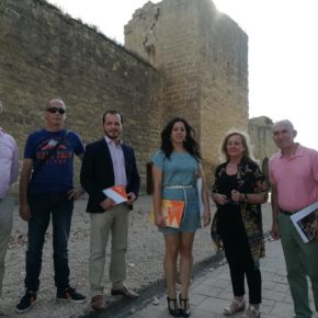 Ciudadanos se reúne con la asociación Ayuela para conocer el estado actual de las murallas y seguir aportando para su recuperación