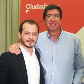"""Baena: """"Cs La Rioja se va a volcar para que Juan Marín sea el próximo presidente de Andalucía"""""""