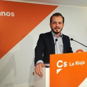 """Baena: """"La limitación de mandatos que promueve Ciudadanos evitará que nadie convierte a La Rioja en su cortijo"""""""