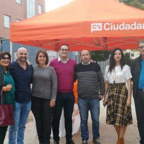 Ciudadanos constituye su grupo local en Lardero coordinado por Pietro Chesús Alvero