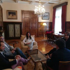 Ciudadanos La Rioja traslada al Delegado del Gobierno las necesidades de la región en materia de infraestructuras