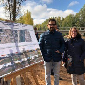 "Ubis: ""La pasarela peatonal de Villamediana es una infraestructura muy demandada que ha sido impulsada por Cs"""