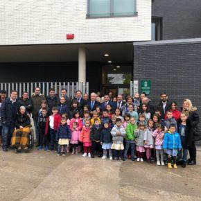 """Diego Ubis: """"El nuevo colegio de Medrano es una gran noticia para el pueblo y supone una apuesta firme por su futuro"""""""