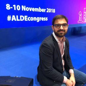 Diego Ubis destaca la apuesta de Ciudadanos por aunar esfuerzos para construir una Europa que funcione mejor