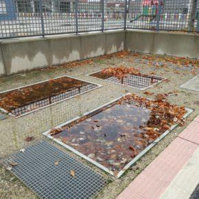 Cs Lardero denuncia la falta de limpieza continuada en el barrio Entre Ríos