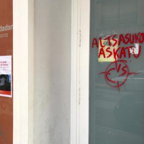 Ciudadanos denuncia el ataque de radicales a su oficina municipal en Calahorra