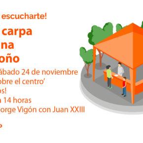 Ciudadanos presenta sus iniciativas para el Centro de Logroño a todos los vecinos de la zona