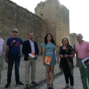 Ciudadanos traslada a Ayuela su impulso en el Congreso de los Diputados en la defensa de las Murallas de Santo Domingo