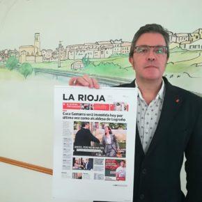 """San Martín """"Ahora ya sabemos todos los logroñeses lo que vale la palabra de Cuca Gamarra"""""""