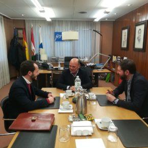 Baena se reúne con la Federación de Empresarios de La Rioja con el fin de mejorar la colaboración entre ambas organizaciones