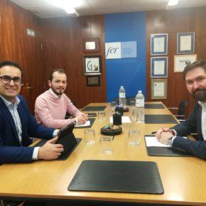 Ciudadanos y FER mantienen un segundo encuentro de trabajo para incorporar medidas que relancen la actividad industrial riojana