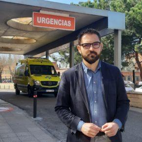 """Diego Ubis: """"La mejora del servicio de urgencias de la Fundación Hospital de Calahorra es una actuación necesaria que avanza con demasiado retraso"""""""