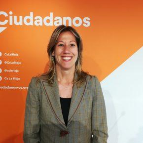 Marta Gómez, candidata de Ciudadanos a la alcaldía de Lardero