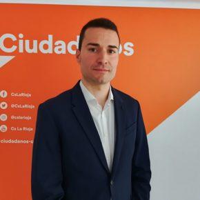 Rubén García Benito, candidato de Ciudadanos a la alcaldía de Nájera
