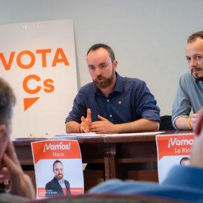 """Castillo: """"Vamos a ser la voz de los jarreros y los vigilantes del gobierno municipal en el Ayuntamiento de Haro"""""""