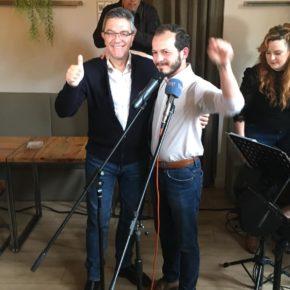 Ciudadanos celebra su acto central de campaña subiendo de nivel