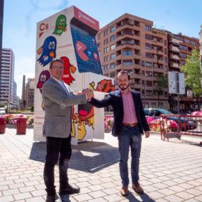 Ciudadanos sube de nivel la campaña electoral en plena Gran Vía de Logroño