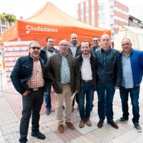 Ciudadanos presenta su proyecto 'El Santo Domingo que queremos' apostando por la reindustrialización de la localidad