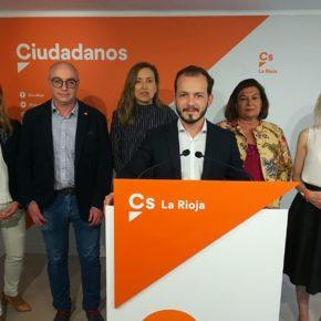 """Baena """"La ola naranja es imparable, en Ciudadanos estamos preparados para gobernar en La Rioja"""""""