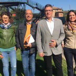Ciudadanos exige el inicio de la segunda ase del soterramiento para unir el barrio de Valdegastea y el centro de Logroño