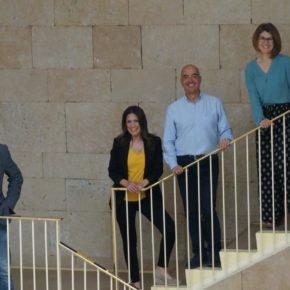 Los cuatro concejales de Ciudadanos presentan sus credenciales en el Ayuntamiento de Logroño