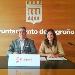 Cs Logroño insta al desarrollo de un Plan Estratégico de Impulso Comercial para Logroño