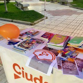 Jóvenes CsLa Rioja pone en marcha su segunda campaña de recogida de material escolar en Logroño