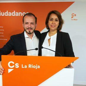 Cs pide a Sánchez que deje de chantajear a las autonomías y entregue los 45 millones de la actualización de las entregas a cuenta a La Rioja