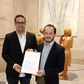 Ciudadanos impulsa en el Parlamento una Declaración Institucional en apoyo a la candidatura de Haro como Ciudad Europea del Vino 2020