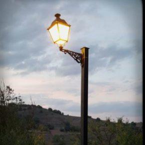 Villaverde de Rioja ilumina el tramo de la Ermita de San Antón