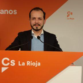 Ciudadanos (Cs) La Rioja reclama a Andreu que levante la voz ante la la infamia de la investidura que pretende llevar a cabo Pedro Sánchez