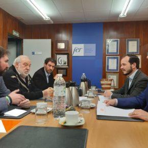 Ciudadanos presenta a la FER sus iniciativas sobre autónomos que se llevarán a debate en el Parlamento
