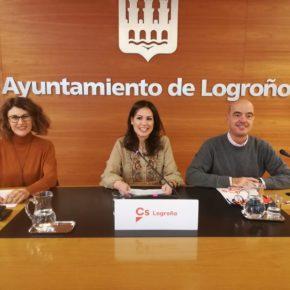 Ciudadanos lamenta la paralización del Ayuntamiento de Logroño e insta al equipo de gobierno a presentar ya los Presupuestos de 2020