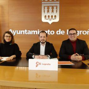 """Baena: """"Las enmiendas de Ciudadanos demuestran que se pueden mejorar los servicios sanitarios y educativos de Logroño sin subir los impuestos"""""""