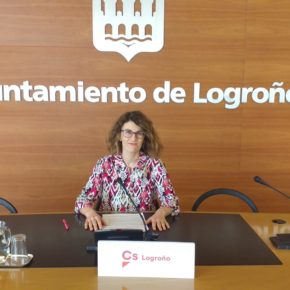 Ciudadanos (Cs) apuesta por reabrir el edificio junto a la chimenea del Parque del Ebro de Logroño como Centro de Interpretación