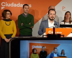 """Baena """"Allá donde Cs gobierna es capaz de centrar al Partido Popular y al PSOE en beneficio de los riojanos"""""""