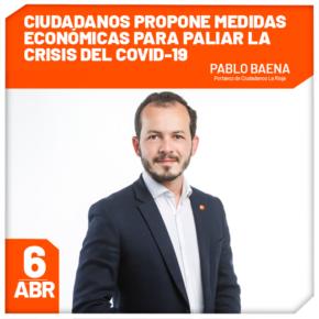Ciudadanos propone medidas económicas por más de 33 millones de euros para paliar la crisis del COVID-19