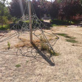 Cs Villamediana denuncia el estado de abandono del parque David Parra Gil
